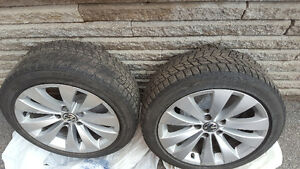 Bridgestone Winter Tires&Rims 235/45/17 West Island Greater Montréal image 4