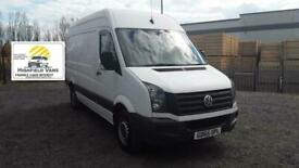 2015 Volkswagen Crafter 2.0TDI 136PS CR35 MWB 109 K NO VAT