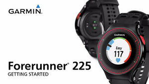 Garmin Forerunnner 225 GPS Watch with Heart Rate Monitor