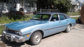 1975 Ford Maverick - in showroom condition - one of a kind.