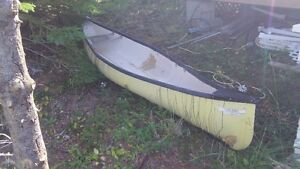 well used canoe for sale