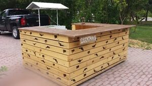 Great back yard Bar and Ice Chest. Peterborough Peterborough Area image 1