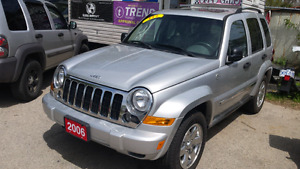 2006 jeep liberty 4x4 limited edition fully loaded London Ontario image 2