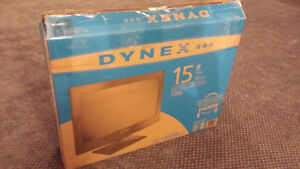 15' inch LCD TV - Like new condition - Comes with box and manual