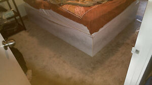 Queen size bed and closet Kitchener / Waterloo Kitchener Area image 2