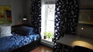 Belle chambre isolée Plateau Mont-Royal
