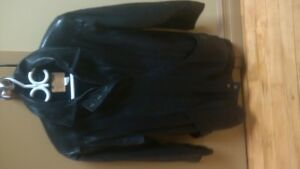 old hyde House leather jacket