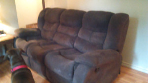 Double Recliner Sofa  ~ REDUCED!!!! **