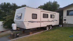 1997- 27 1/2 foot Travel trailer with a 13 foot slide out
