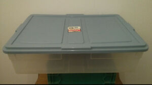 Various Sized Storage BinsContainers