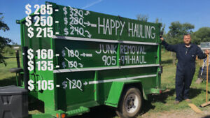 Happy Hauling Junk Removal-Zero contact options!