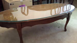 Solid Maple Coffee Table and End Table Set