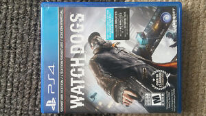 ps4 watch dogs perfect condition