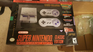 Brand New Sealed SNES Classic