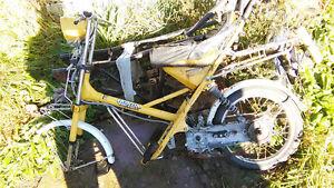 Honda express 2 II parts