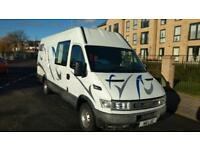 Iveco Daily (2001) campa private plate