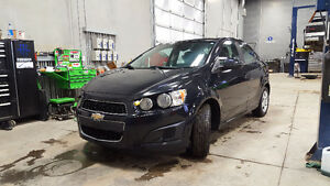 13 Chevy Sonic - comes with new winter tires - MUST GO