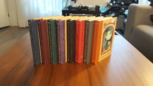 A Series of Unfortunate Events 1-8 Hardcover 8/10 Condition