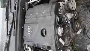 Audi A4 2.0L Turbo parts - xenon, leather, doors, air bags Kitchener / Waterloo Kitchener Area image 2