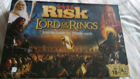 LOTR RISK board game BNIB. Lord of the Rings
