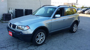 2005 BMW X3 2.5I  - ONLY 102400KM!!! - ***CERTIFIED & ETESTED***