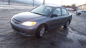 2005 Honda Civic se Sedan 5 spd Runs Great winter tires