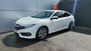 2017 Honda Civic 10th Gen MY17 VTi-S White 1 Speed Constant Variable Sedan