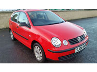 LOW MILEAGE VW POLO 1.2 E, 1 FORMER KEEPER