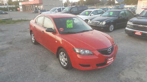 MAZDA 3 SEDAN *** LOW KM *** CERTIFIED $4995