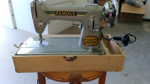 Vintage Famous Sewing Machine