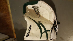 Reebok trapper,CCM goalie pants, bauer & vaughn chest protectors