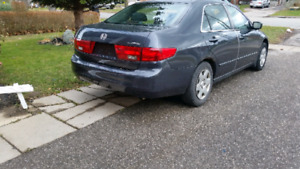 2005 Honda accord low k.m. for sale.