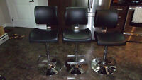 chrome bar stools