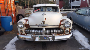 1950 Mercury 8 Sedan COOL OLD CAR  Winter Project Time
