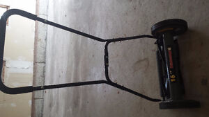 16`` Reel lawn mover almost brand new