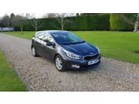 2014 (14) Kia ceed 1.6CRDi ecodynamics only 24,000 miles 1 private owner