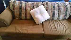 Very comfortable couch great shape  60 dollars Peterborough Peterborough Area image 1