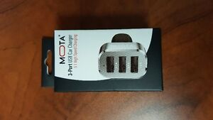 High Speed 3-portUSB Car Charger