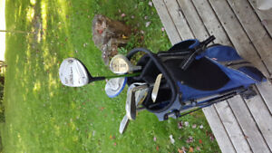 Kids Left Hand Golf Clubs with bag $30 obo