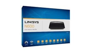 Linksys N600 Dual Band Wireless Router /Routeur (E2500-CA)