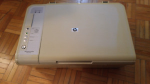 HP Deskjet F4210 all in one printer and scanner