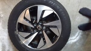 "new 4 Honda CRV Tires 18"" with alloy rims"