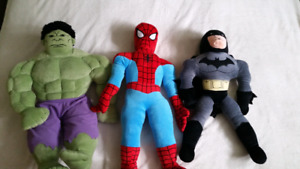 Superhero stuffed toys