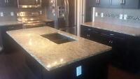 GRANITE & QUARTZ COUNTERTOPS - Kitchen/Vanity SinksINCLUDED** ED