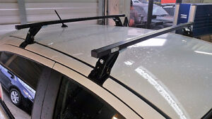 Complete Square Bar Roof Rack System for ANY car St. John's Newfoundland image 6