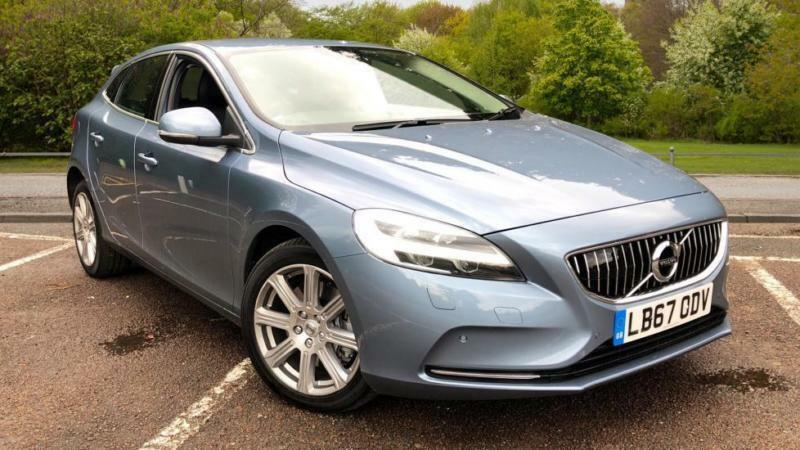 2018 volvo v40 d3 inscription auto w front a automatic diesel hatchback in croydon london. Black Bedroom Furniture Sets. Home Design Ideas
