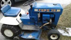 Ford 75 garden tractor lawn tractor riding mower