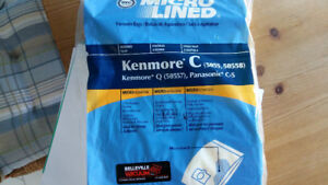 PKG OF NEW BAGS FOR KENMORE CANISTER VACUUM