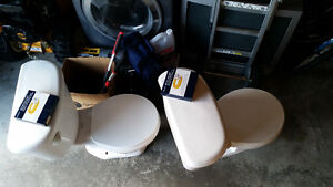 2 Used Toilets ($30 each)