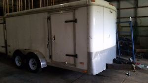 7x14 foot enclosed trailer